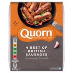 Quorn Best of British Sausages 4 Pack