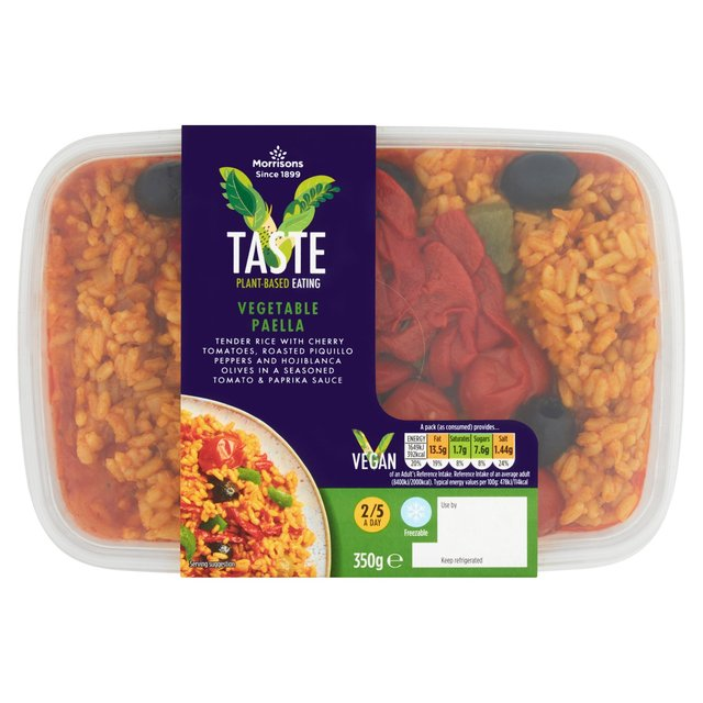 Morrisons V Taste Vegetable Paella