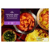 Morrisons Chicken Tikka & Rice