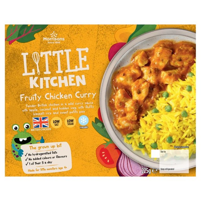 Morrisons Kids Fruity Chicken Curry