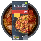 Morrisons The Best King Prawn & Chicken Paella