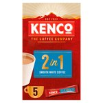 Kenco 2in1 Instant Coffee Sachets with Milk x5 Sachets