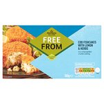 Morrisons Free From Cod Fish Cakes With Lemon & Herbs