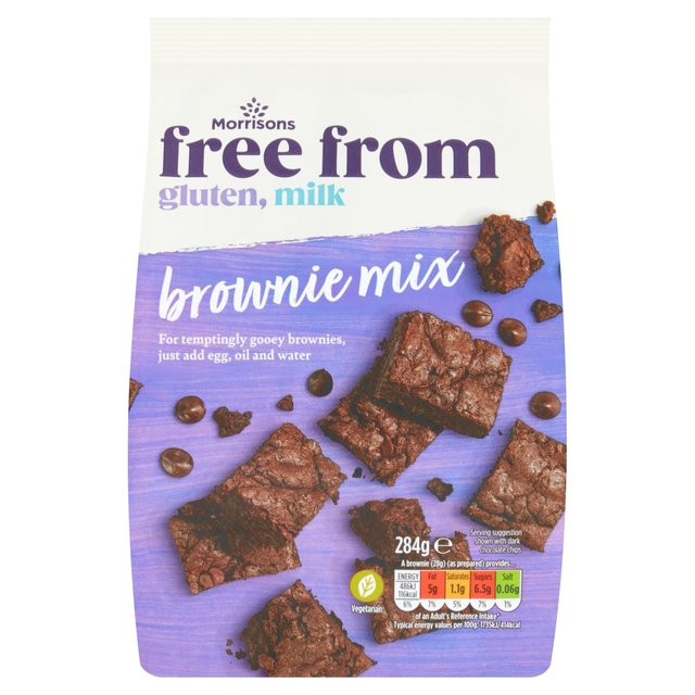 Morrisons Free From Chocolate Brownie Mix