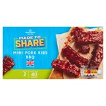 Morrisons Made To Share Pork Mini Ribs