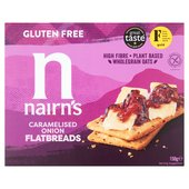 Nairn's Gluten Free Flatbreads Caramelised Onion