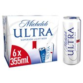 Michelob Ultra Superior Light Beer Cans