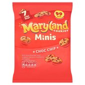 Maryland Cookies Minis Choc Chip Mini Bags