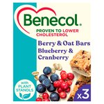 Benecol Blueberry & Cranberry Cereal Bars