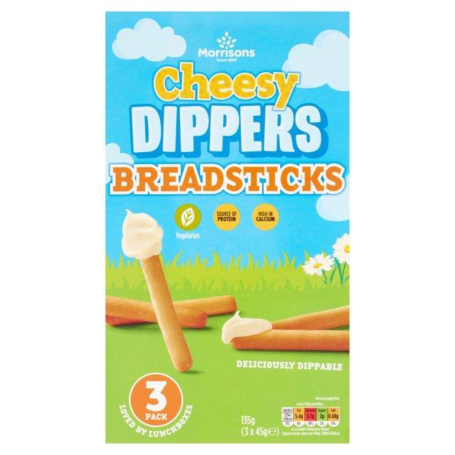 Morrisons Cheese Dipper Breadsticks