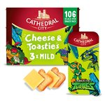 Cathedral City Kids Snack Cheese & Toasties Mild Lighter Cheese