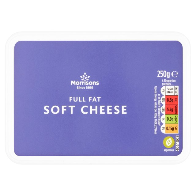 Morrisons Full Fat Soft Cheese