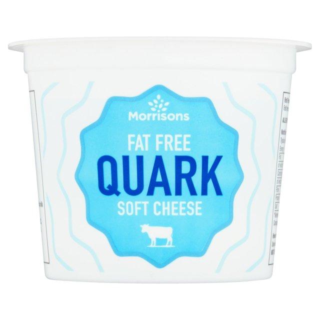 Morrisons Natural Fat Free Quark