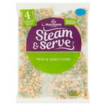 Morrisons Peas & Sweetcorn 4 Pack