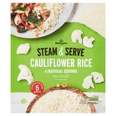 Morrisons Steam & Serve Riced Cauliflower