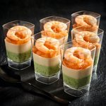 Morrisons The Best 6 Prawn & Cucumber Mousse Starter