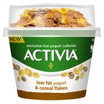Activia Plain Yogurt With Cornflakes
