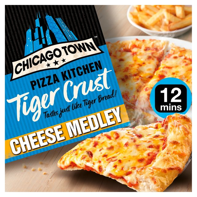 Chicago Town Pizza Kitchen Tiger Crust Cheese Medley