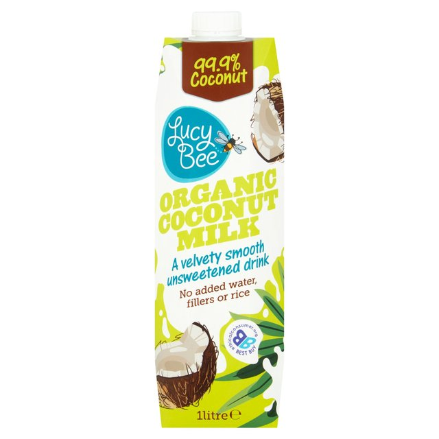 Lucy Bee Organic Coconut Milk