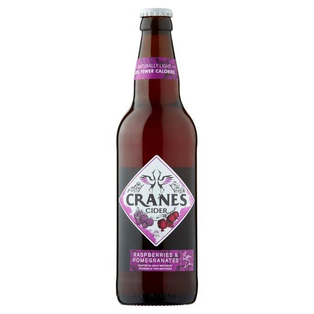 Cranes Cranberry Cider Raspberry & Pomegranates