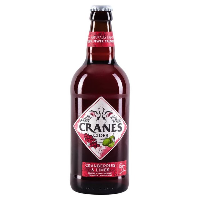 Cranes Cranberries & Lime Cider
