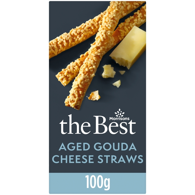 Morrisons The Best Aged Gouda Cheese Straws