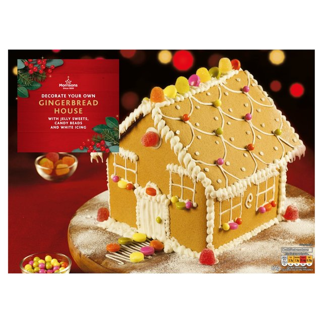 Morrisons Decorate Your Own Christmas Gingerbread House