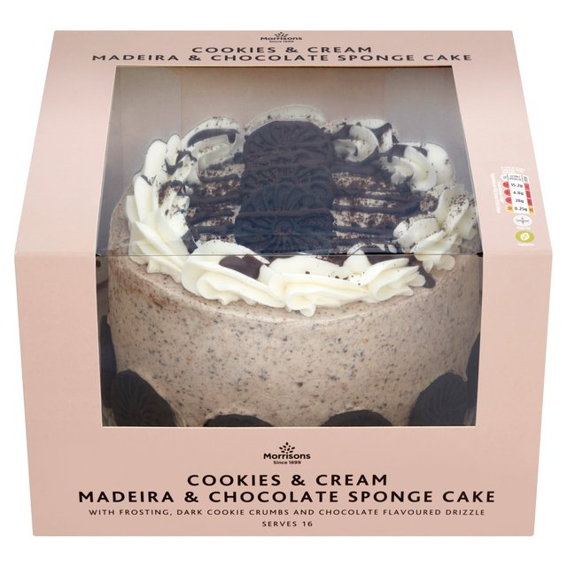 Morrisons Cookies Cream Celebration Cake