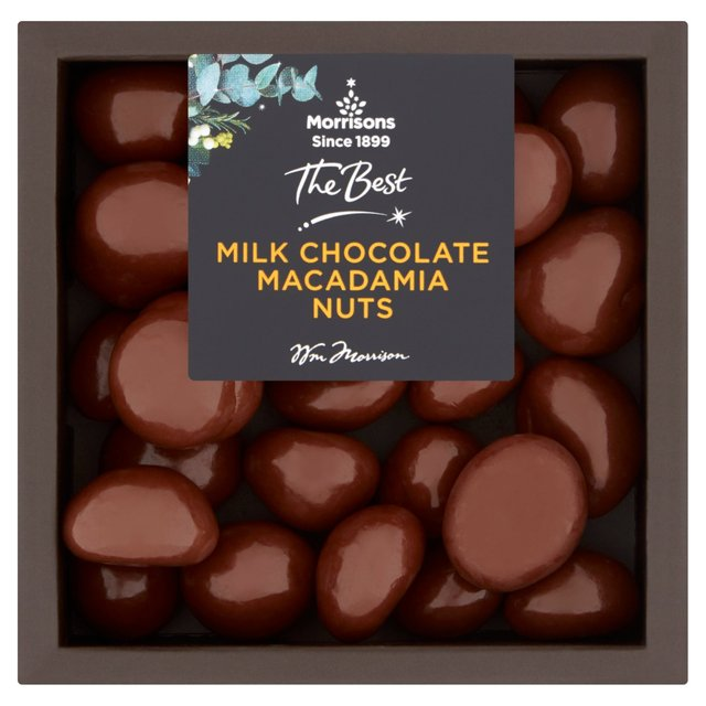 Morrisons Morrisons The Best Chocolate Macadamias 100g Product