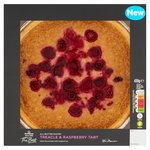 Morrisons The Best Treacle & Raspberry Tart
