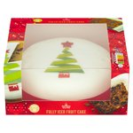 Morrisons Christmas Fully Iced Tree Cake