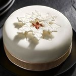 Morrisons The Best Fully Iced Snowflake Christmas Cake