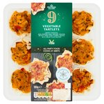 Morrisons 9 Vegetable Tartlets