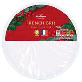 Morrisons Large Christmas Brie