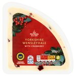 Morrisons Yorkshire Wensleydale & Cranberry Cheese