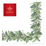 Morrisons Christmas Napkins Holly