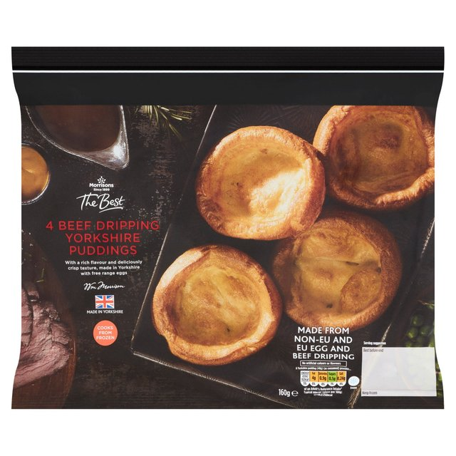 Morrisons The Best Beef Dripping Yorkshire Puddings