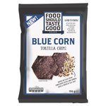 Food Should Taste So Good Blue Corn Tortilla Chips