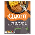 Quorn 4 Vegetarian Gammon Steaks