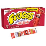Petit Filous Frubes 9 X Strawberry Flavour