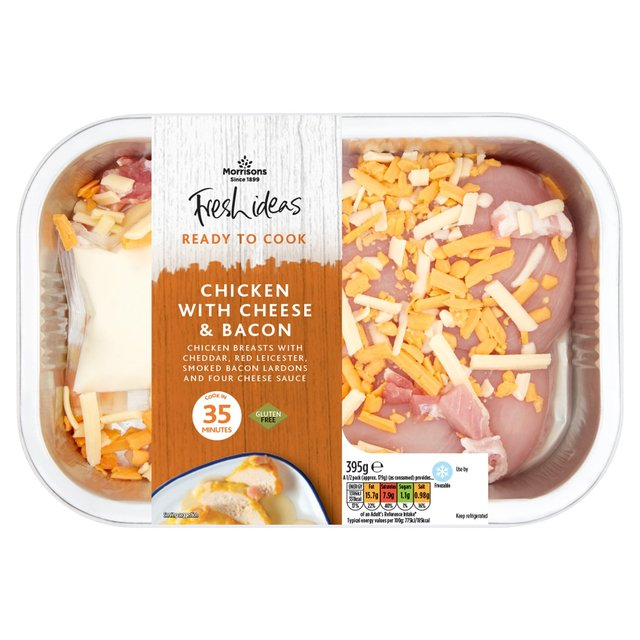 Morrisons Fresh Ideas Ready To Cook Chicken In Bacon