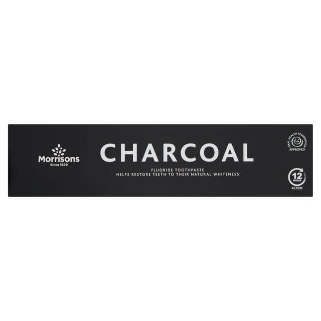 Morrisons Charcoal Toothpaste