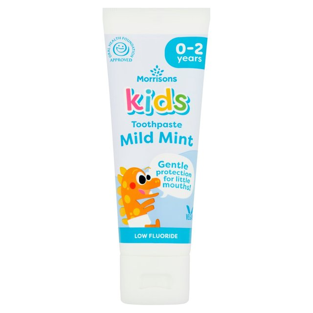 Morrisons Kids 0 - 2 Years Toothpaste 75Ml