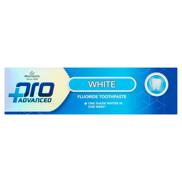 Morrisons Pro Advanced White Toothpaste
