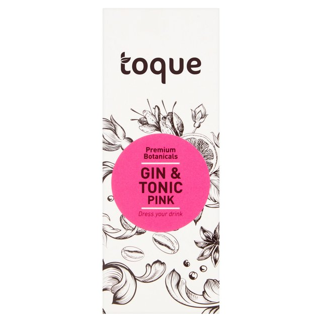 Toque Premium Botanicals Gin & Tonic Rose