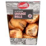 Ginsters 10 Mini Sausage Rolls