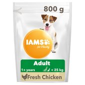 Iams For Vitality Adult Small & Medium Dog Food With Fresh Chicken