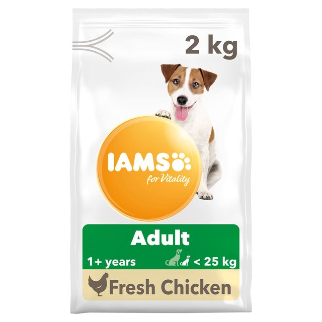 Morrisons Iams For Vitality Adult Small Medium Dog Food With