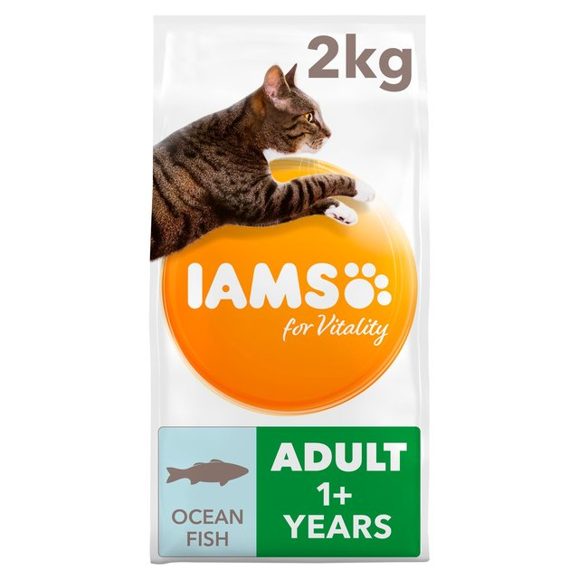 Iams For Vitality Adult 1+ Years With Ocean Fish 2Kg