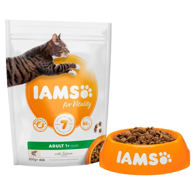 Iams For Vitality Adult 1+ Years With Salmon 800G
